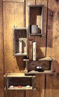 Vintage Brick Moulds, Bathroom Storage, kitchen Condiments, even Jack Daniels!